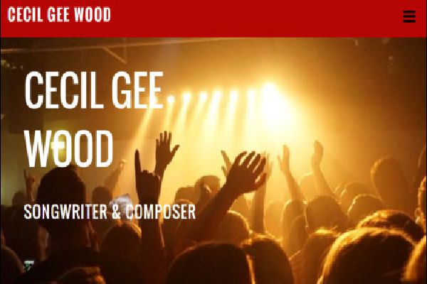 Cecil Gee Wood Songwriter & Composer